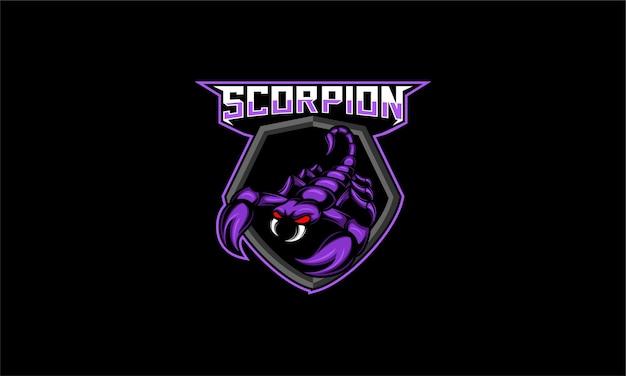 Gry z logo esport scorpion