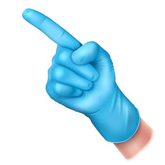 Guma w rękawiczce