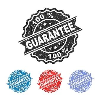 Gwarancja pieczątka gwarancja pieczęć pieczęć gwarancja vintage pieczątka