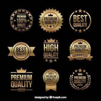 Gwarantujemy złotą kolekcję etykiet