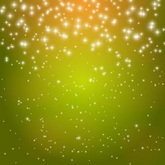 Gwiazda błyszczące niebo wektor ilustracja tło eps10