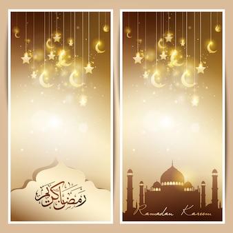 Gwiazda meczetu i złoto półksiężyca