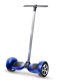 Gyro scooter realistyczne close up image