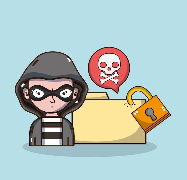 Hacker i technologia systemu bezpieczeństwa
