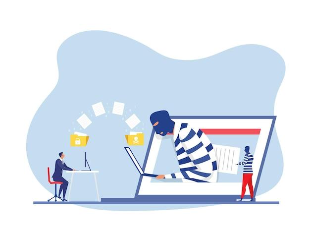 Haker kradnie dane i koncepcja informacji osobistych