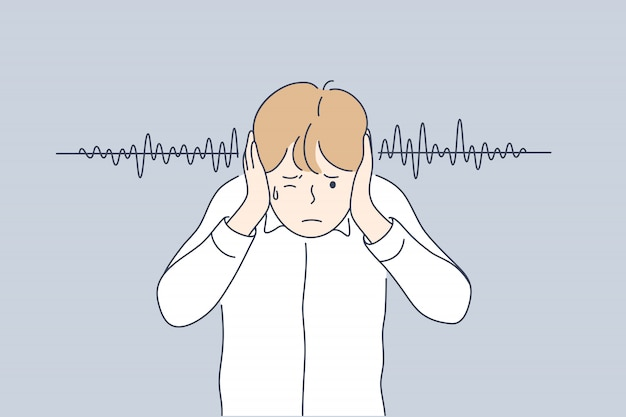Hałas, stres, przekleństwa, koncepcja ochrony
