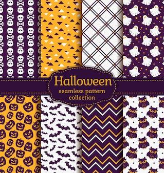 Halloween bez szwu wzorów