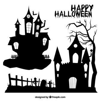 Halloween domy