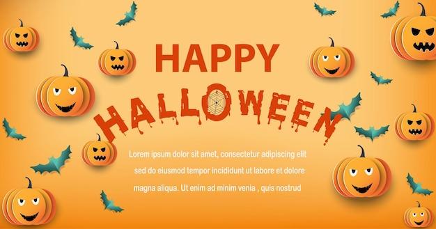 Halloween i pełnia księżyca w ciemnej nocyciemny zamek na tle księżyca w pełni duch i latające nietoperze