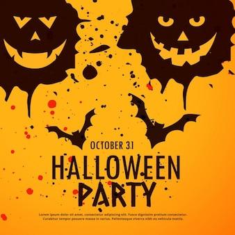 Halloween party grunge