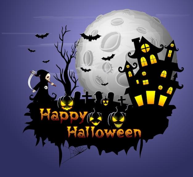 Halloween party plakat