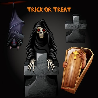 Halloween tła projektowania