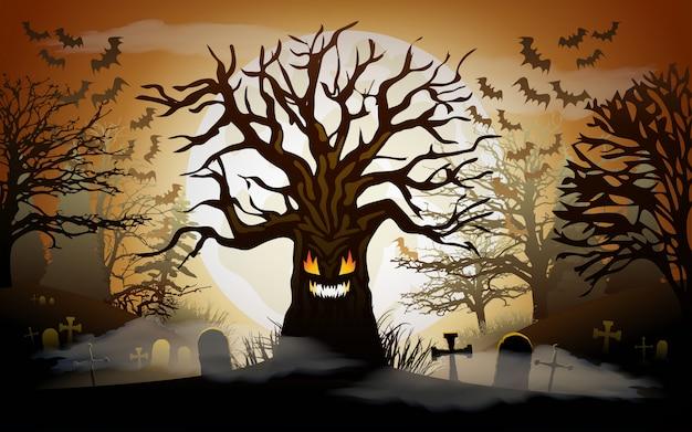 Halloween w tle