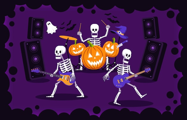 Halloweenowa impreza rockowa