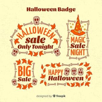 Halloweenowa odznaka kolekcja