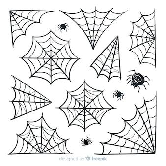 Halloweenowa pajęczyna paczka