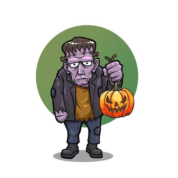 Halloweenowa postać