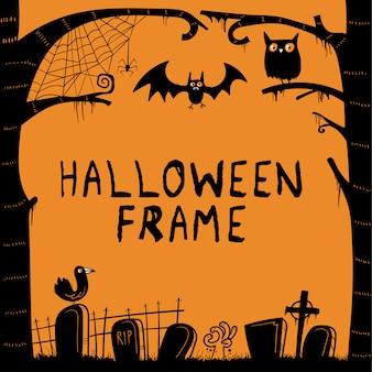 Halloweenowa rama