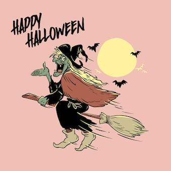 Halloweenowa wiedźma