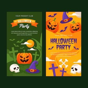 Halloweenowe banery