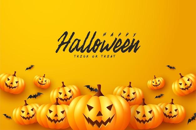 Halloweenowe banie z nietoperzami