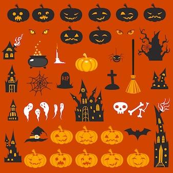 Halloweenowe ikony