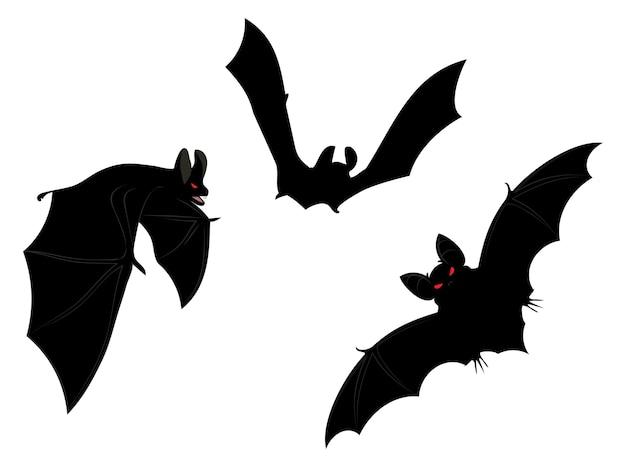 Halloweenowe nietoperze