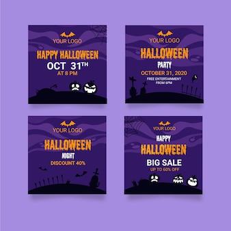Halloweenowe posty na instagramie