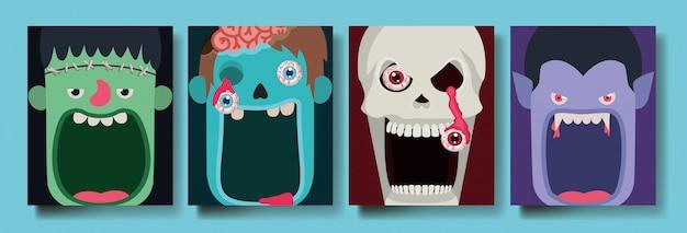 Halloweenowe potwory