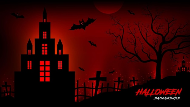 Halloweenowe tło