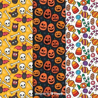 Halloweenowe wzory z rysunkami