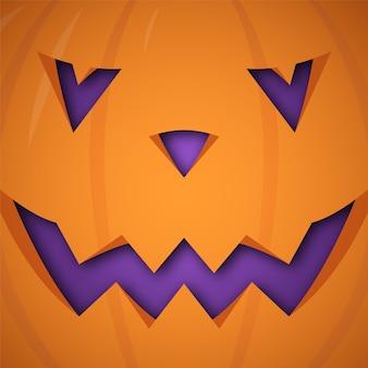 Halloweenowy dyniowy tło.