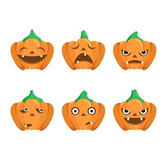 Halloweenowy festiwal dyniowy motyw kolekcji