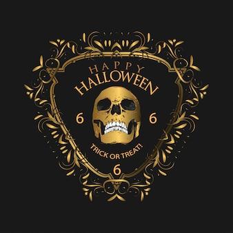 Halloweenowy luksusowy przyjęcie
