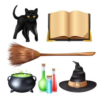 Halloweenowy magiczny set