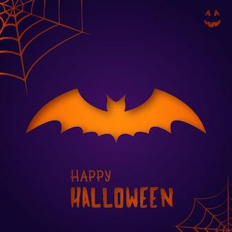Halloweenowy nietoperz