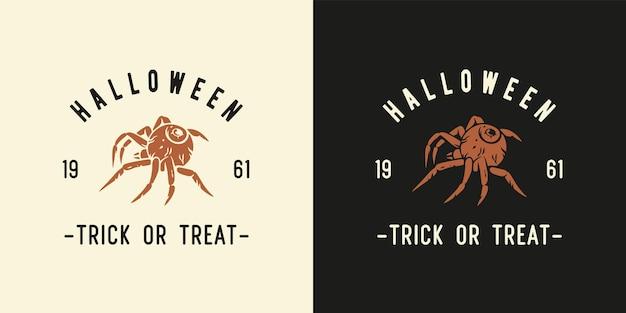 Halloweenowy pająk lub owad do druku na halloween