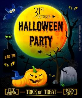 Halloweenowy plakat