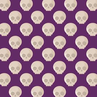 Halloweenowy świętowanie wzór