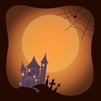 Halloweenowy tradycyjny wizerunek dalej