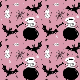 Halloweenowy wzór dla dziewczyn