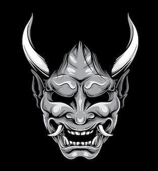 Hannya japanese mask