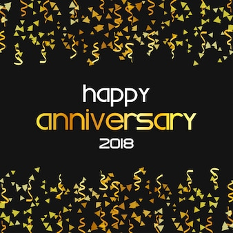 Happy aniversary 2018