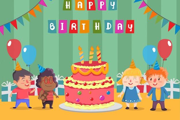 Happy birtday celebration
