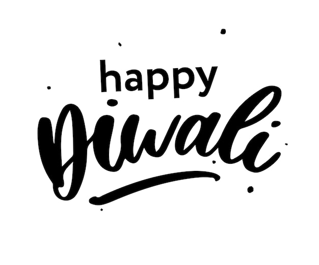 Happy diwali napis
