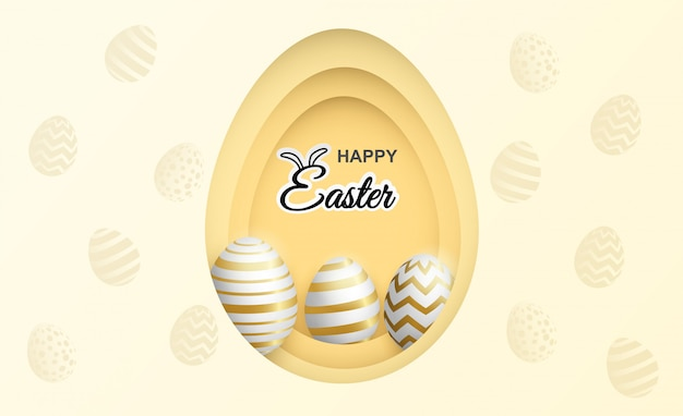 Happy easter celebration