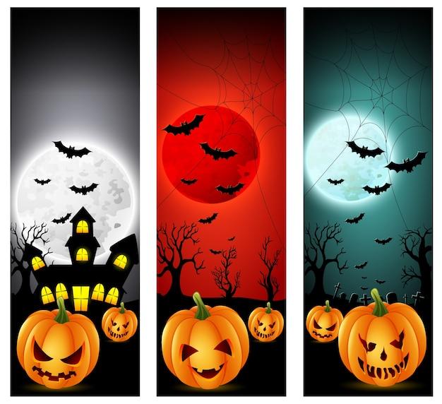 Happy halloween banery