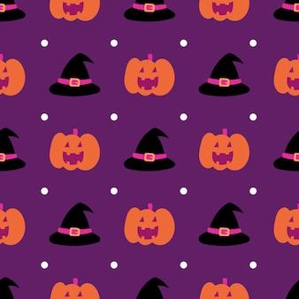 Happy halloween bezszwowe tło wzór. abstrakcyjny wzór halloween