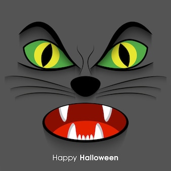 Happy halloween kartkę z życzeniami na obchody festiwalu