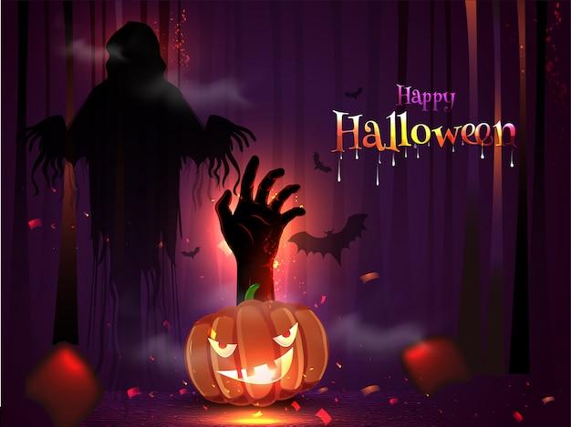 Happy halloween kartkę z życzeniami